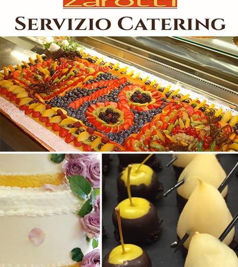 Servizio catering pasticceria zarotti